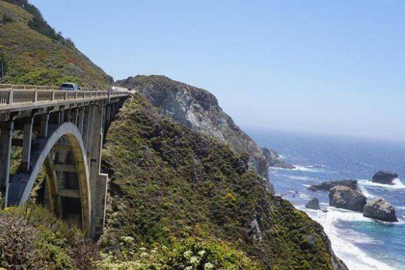 Mit dem Wohnmobil über den California Highway 1 nach Süden. Mehr erfährst du unter www.wiraufreise.de