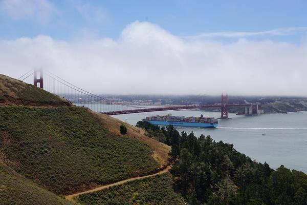 Der California Highway 1 nördlich von San Francisco. Weitere Informationen unter www.wiraufreise.de