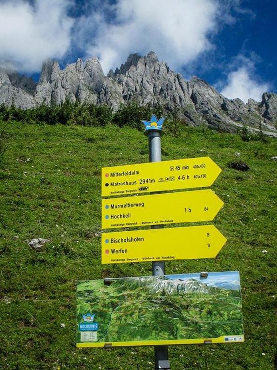 Mühlbach am Hochkönig - leichte Wanderrouten und Ausflugsziele in Salzburg