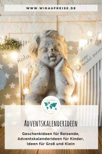 Adventskalenderideen - Geschenke für Reisende. Weitere Informationen unter www.wiraufreise.de