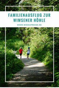 Schwäbische Alb – Ausflugsziele mit Kindern: Wimsener Höhle. Weitere Informationen unter www.wiraufreise.de