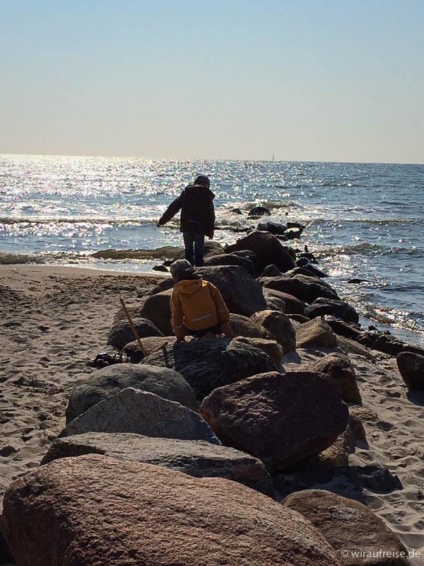 Ostseeurlaub mit Kindern im Herbst und Winter. Mehr Informationen unter www.wiraufreise.de