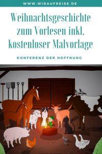 Weihnachtsgeschichte zum Vorlesen. Weiter Informationen unter www.wiraufreise.de