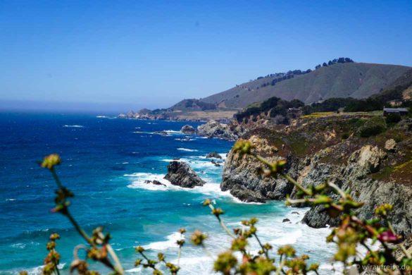 Der schönste Streckenabschnitt Kaliforniens - Big Sur am Pacific Coast Highway number 1