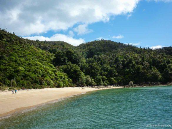 Tonga Beach im Abel Tasman Nationalpark