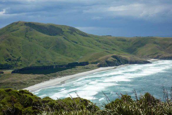 Herrlicher Ausblick am Sandy Mount Otago Peninsula