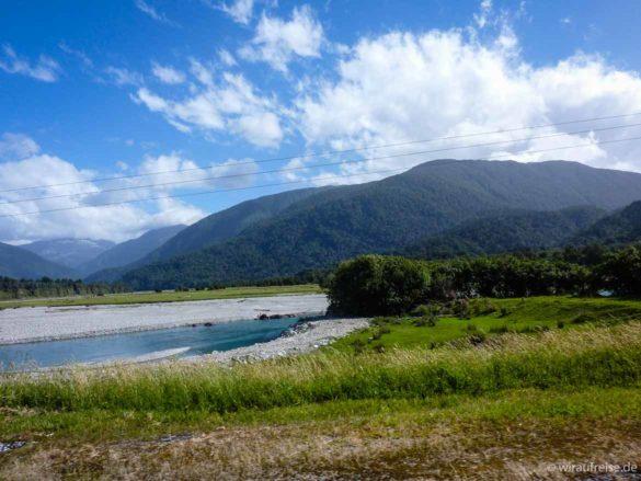 Haast Pass Neuseeland Südinsel