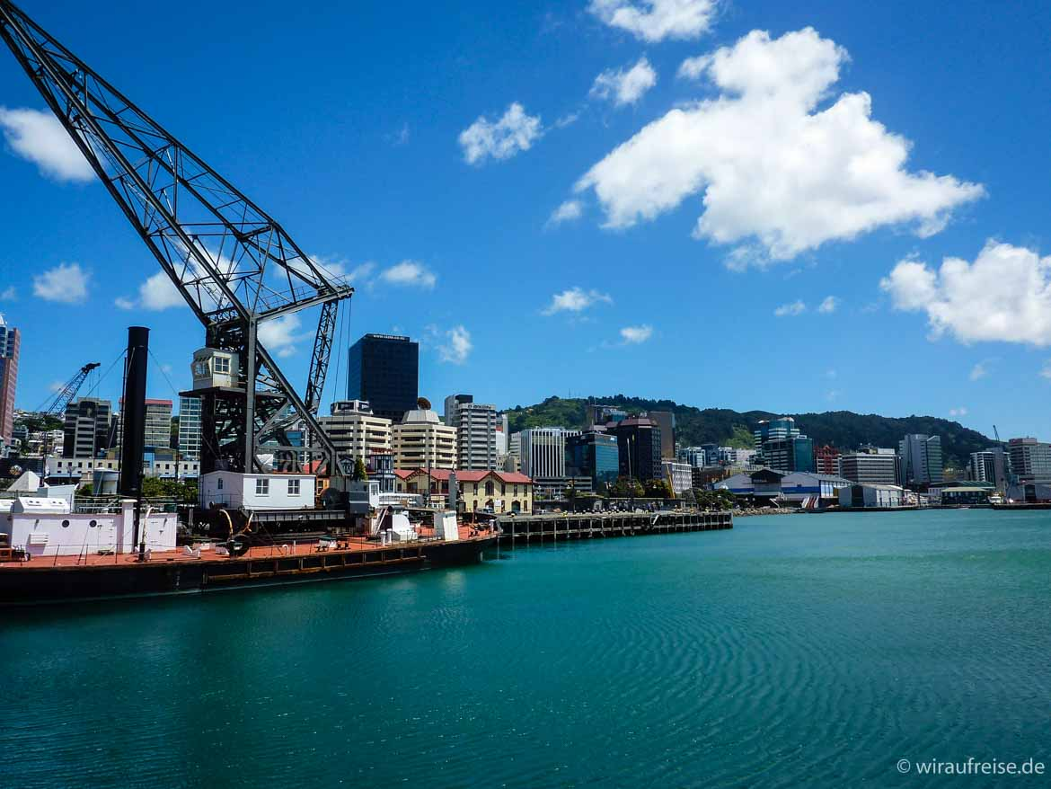 Hafen in Wellington