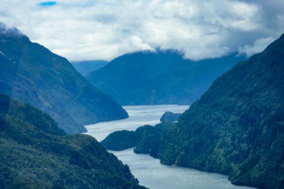 Unbezahlbarer Ausblick auf den Doubtful Sound