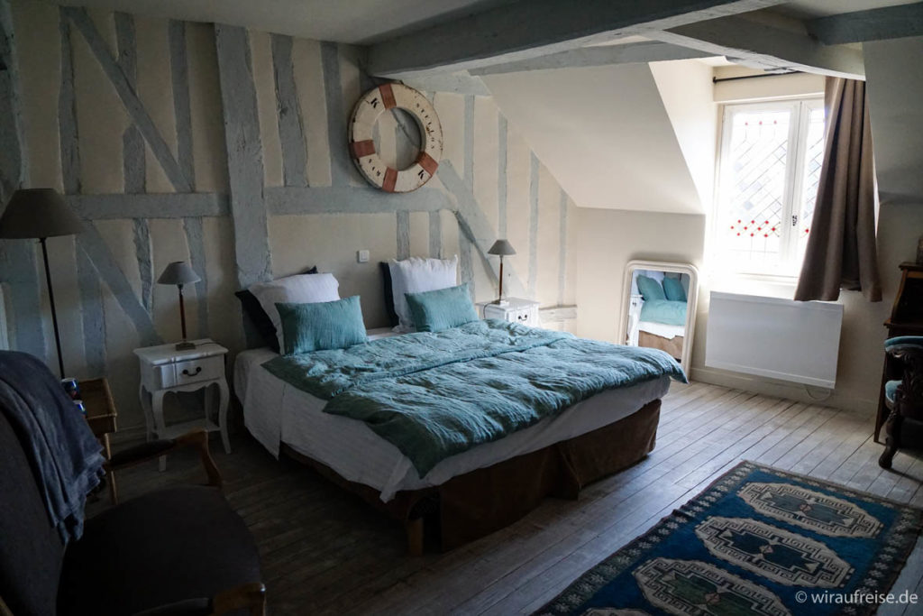 """Zimmer im Apartement im """"La Cour Sainte Catherine"""" in Honfleur"""