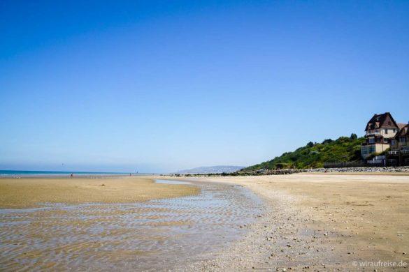 Strand in Blonville-sur-mer