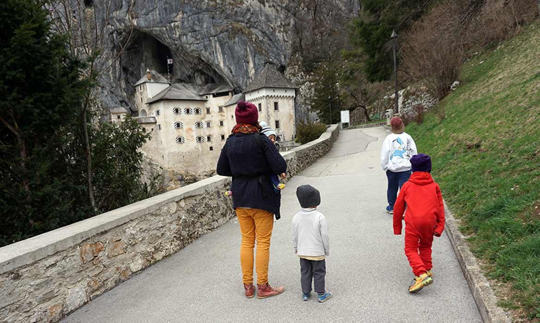 Die Höhlenburg Predjama Grad in Slowenien - weitere Informationen unter www.wiraufreise.de
