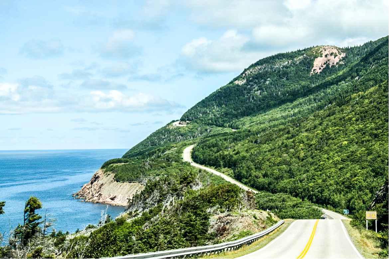 Der Cabot Trail in Nova Scotia. Weitere Informationen unter www.wiraufreise.de
