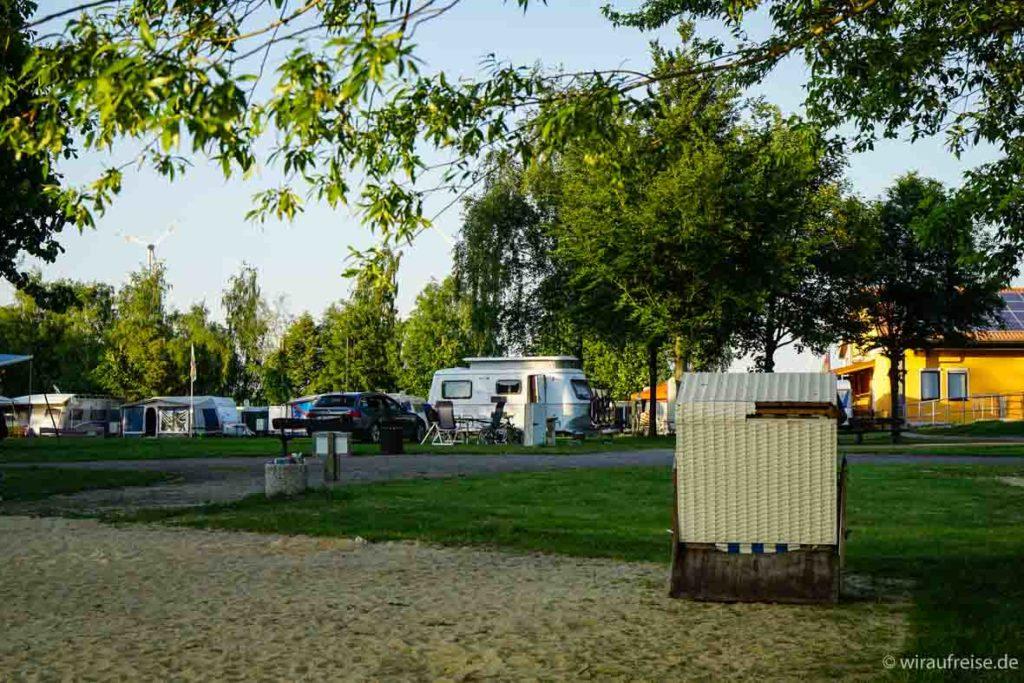 Campingplatz in Wangenheim