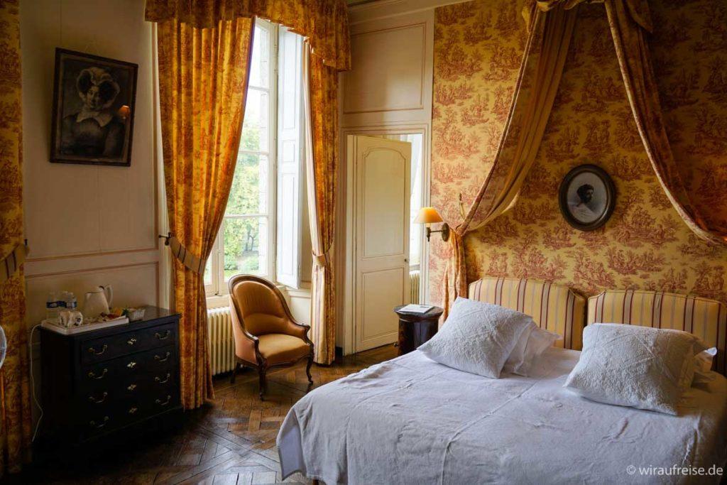 Zimmer Nelly im Château de Buceel
