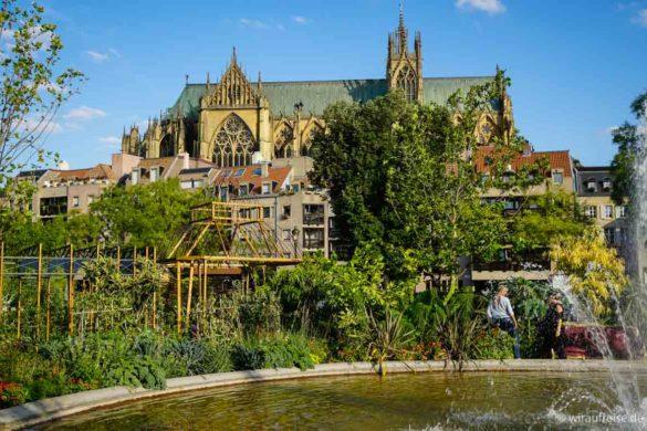 Gartenausstellung in Metz