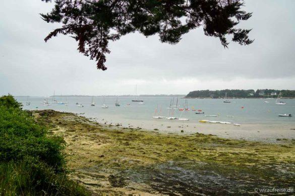 Île aux moines, die Insel der Mönche im Golf von Morbihan