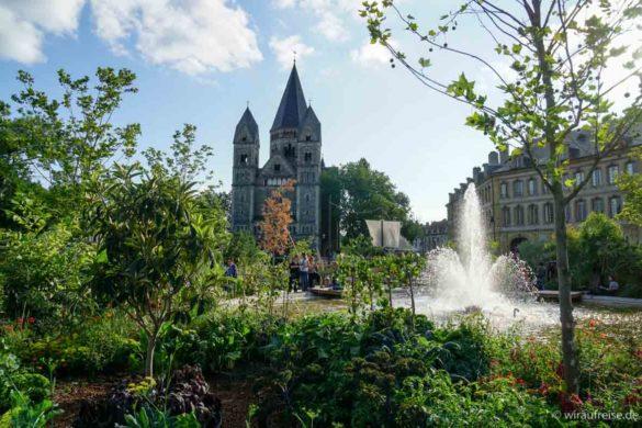 Gartenausstellung im Zentrum von Metz