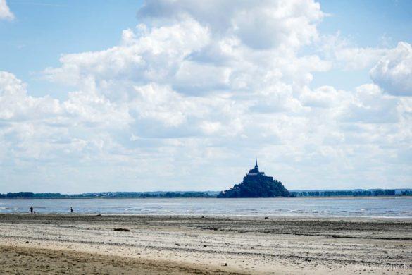 Aussicht auf den Mont Saint Michel