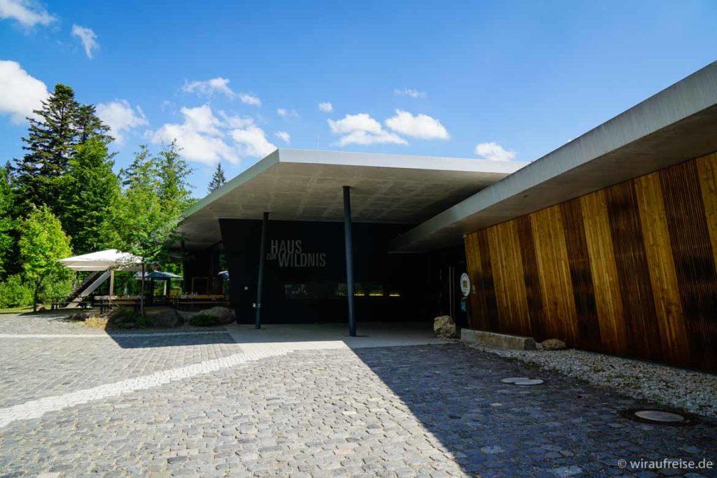 Das Haus zur Wildnis im Nationalpark Bayerischer Wald