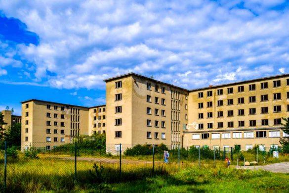 KdF (Kraft durch Freude)-Bau in Prora vor der Renovierung