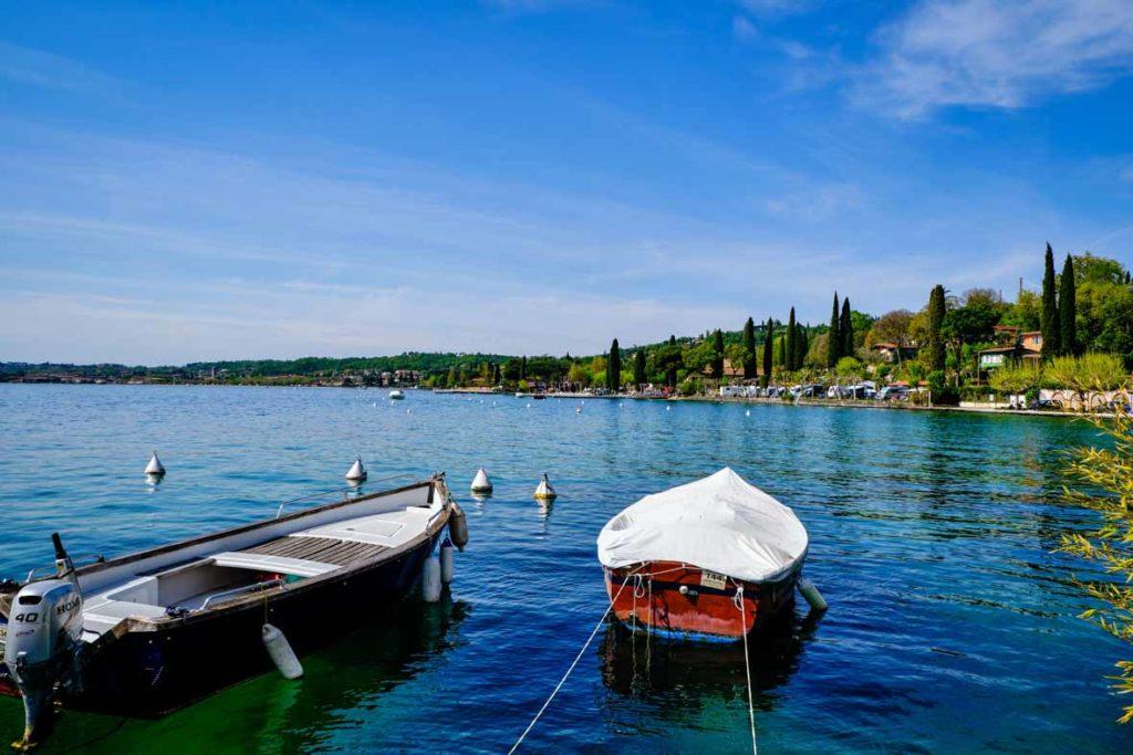 Gardasee bei San Felice del Benaco