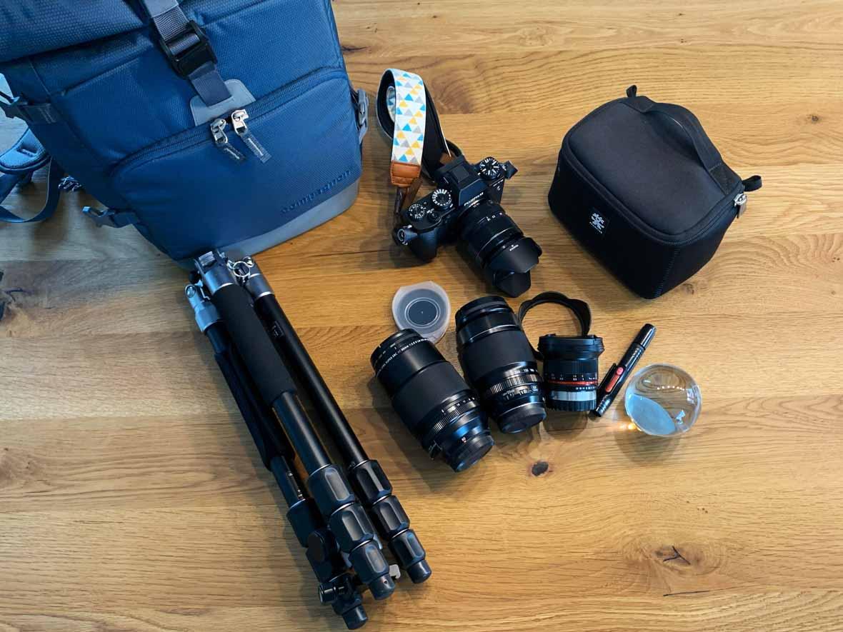 Kamerazubehör, ich packe meinen Fotorucksack {Werbung}