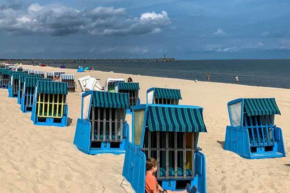 Erholung am Strand von Koserow