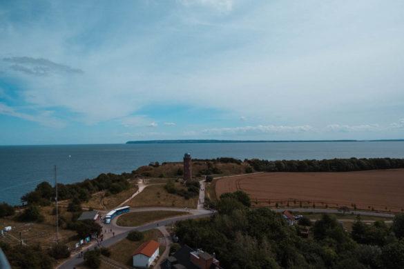 Kap Arkona - Aussicht vom Leuchtturm Richtung Südosten