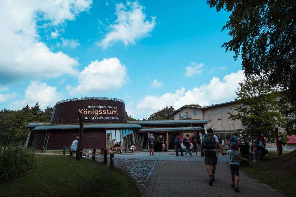 Das Nationalpark-Zentrum Königsstuhl im Nationalpark Jasmund